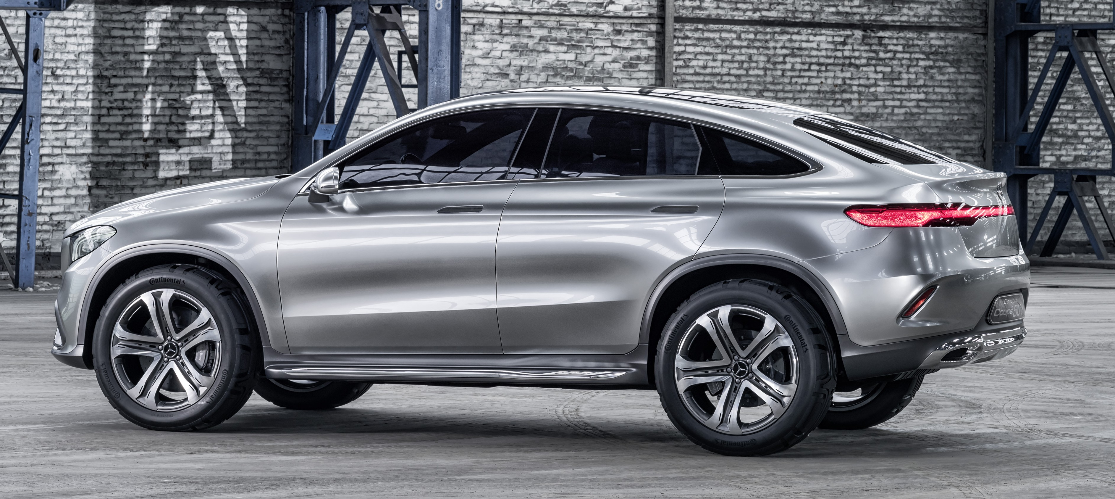 Mercedes Benz Coupe Suv Concept Previews X6 Rival Image 242564