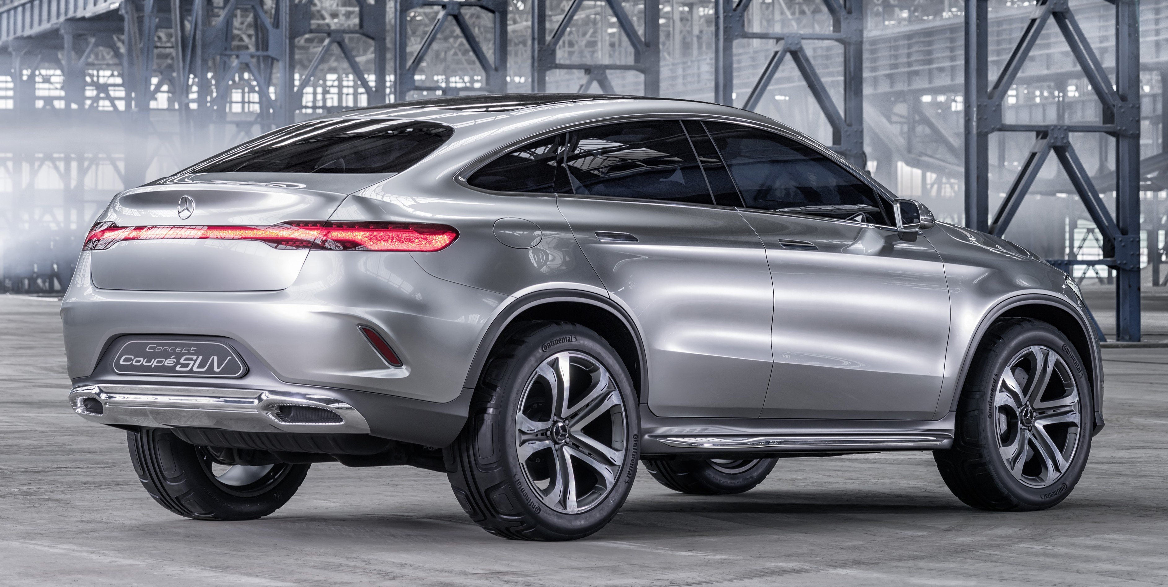 Mercedes benz coupe suv concept previews x6 rival image 242569 for Mercedes benz suv models