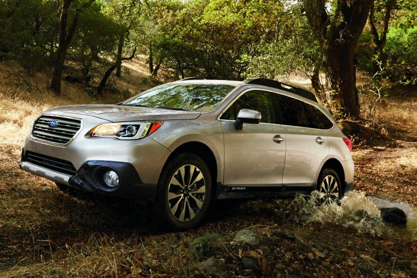 2015 Subaru Outback – jacked-up Legacy debuts in NY Image #243814