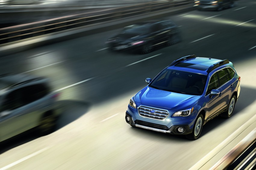 2015 Subaru Outback – jacked-up Legacy debuts in NY Image #243819