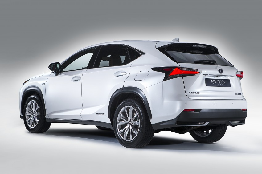 Lexus NX – first photos released ahead of Beijing Image #242952