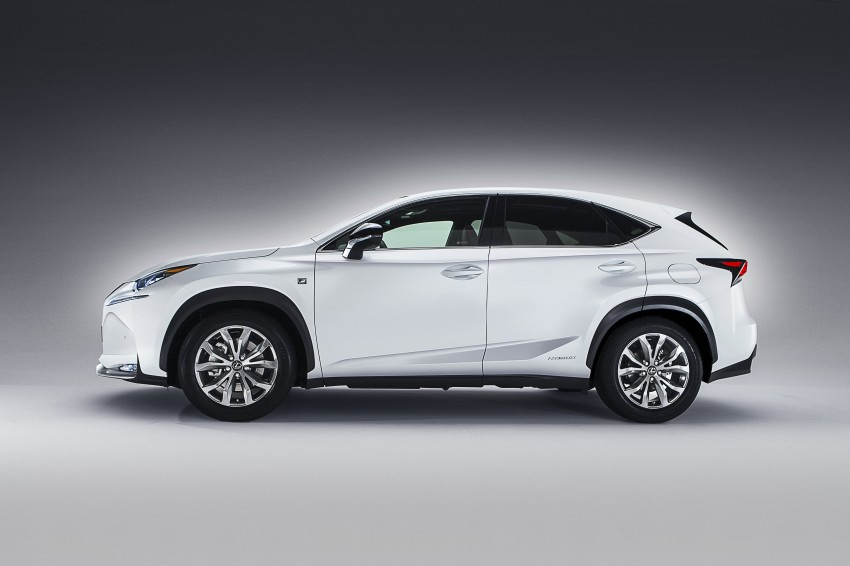 Lexus NX – first photos released ahead of Beijing Image #242953