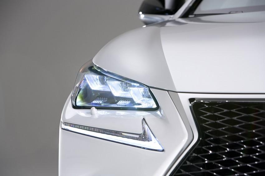 Lexus NX – first photos released ahead of Beijing Image #242949