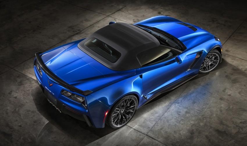 Chevrolet Corvette Z06 Convertible – track-spec cabrio Image #240723