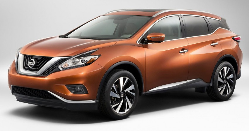 Third-generation Nissan Murano – first official photos Image #241109