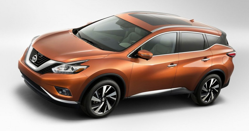 Third-generation Nissan Murano – first official photos Image #241110