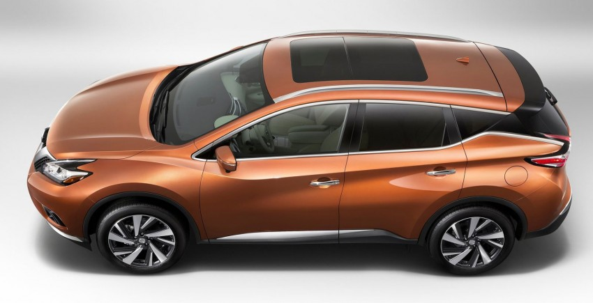 Third-generation Nissan Murano – first official photos Image #241111