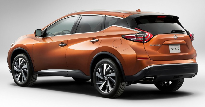 Third-generation Nissan Murano – first official photos Image #241112