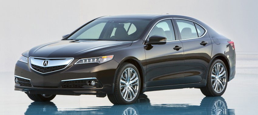 2015 Acura TLX taking the fight to Infiniti and Lexus – offers world's first DCT with torque converter Image #242167