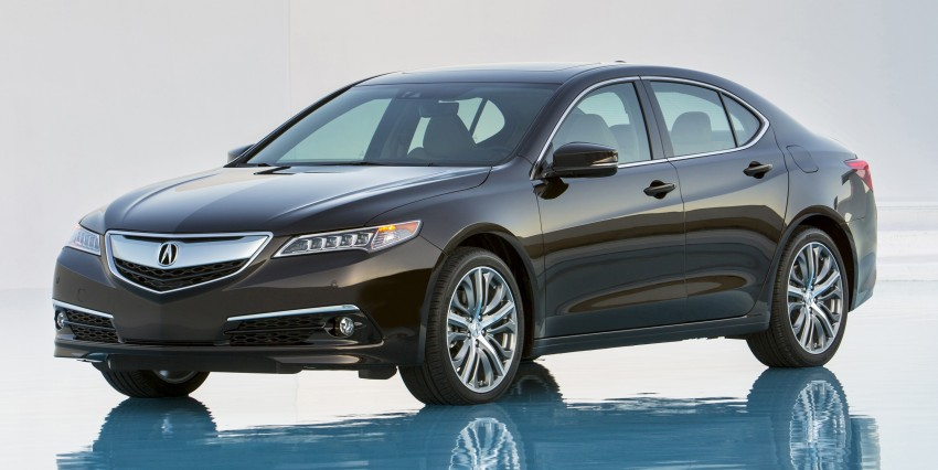 2015 Acura TLX taking the fight to Infiniti and Lexus – offers world's first DCT with torque converter Image #242121