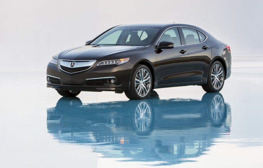 2015 Acura TLX taking the fight to Infiniti and Lexus – offers world's first DCT with torque converter Image #242165