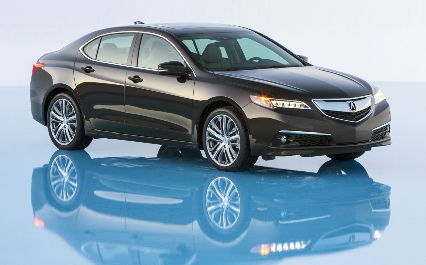 2015 Acura TLX taking the fight to Infiniti and Lexus – offers world's first DCT with torque converter Image #242159
