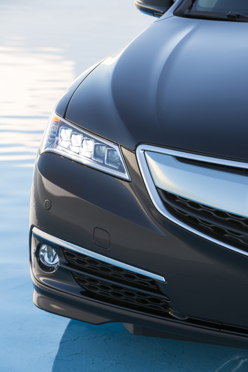 2015 Acura TLX taking the fight to Infiniti and Lexus – offers world's first DCT with torque converter Image #242161