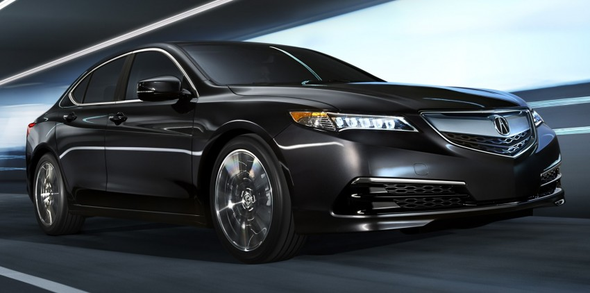 2015 Acura TLX taking the fight to Infiniti and Lexus – offers world's first DCT with torque converter Image #242146