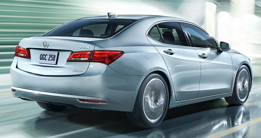 2015 Acura TLX taking the fight to Infiniti and Lexus – offers world's first DCT with torque converter Image #242149