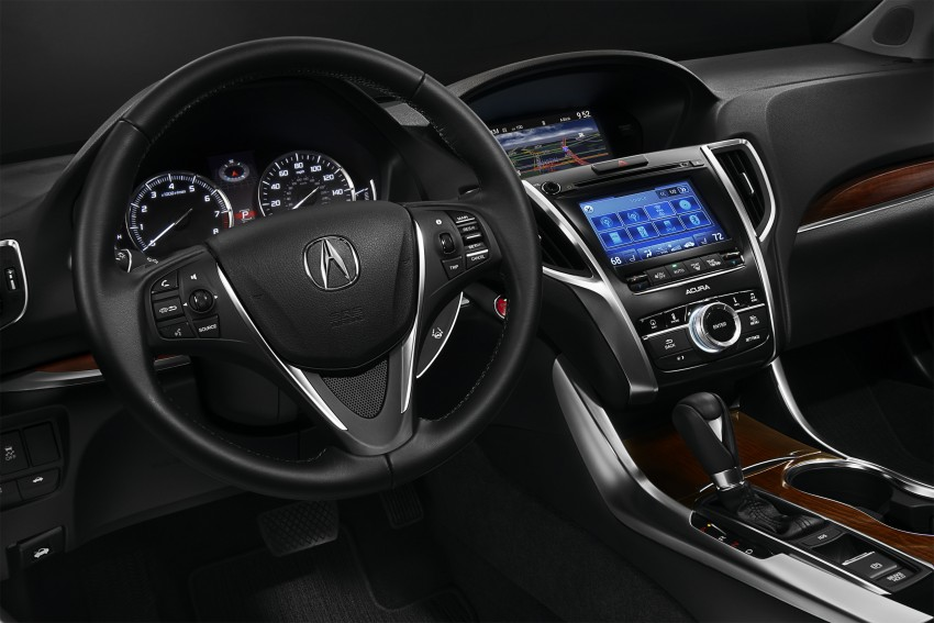 2015 Acura TLX taking the fight to Infiniti and Lexus – offers world's first DCT with torque converter Image #242151