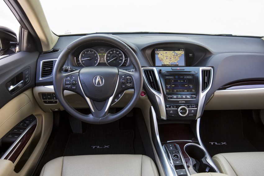 2015 Acura TLX taking the fight to Infiniti and Lexus – offers world's first DCT with torque converter Image #242136