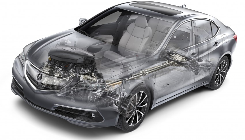 2015 Acura TLX taking the fight to Infiniti and Lexus – offers world's first DCT with torque converter Image #242140