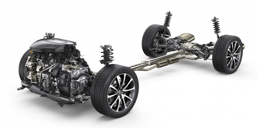 2015 Acura TLX taking the fight to Infiniti and Lexus – offers world's first DCT with torque converter Image #242141