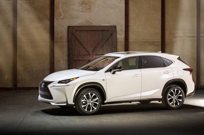 Lexus NX – full details revealed at Auto China 2014 Image #243194