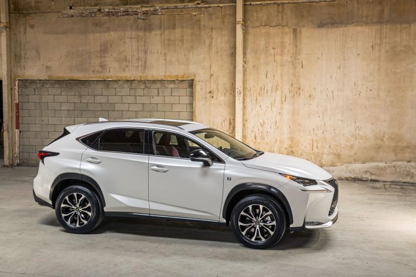 Lexus NX – full details revealed at Auto China 2014 Image #243190