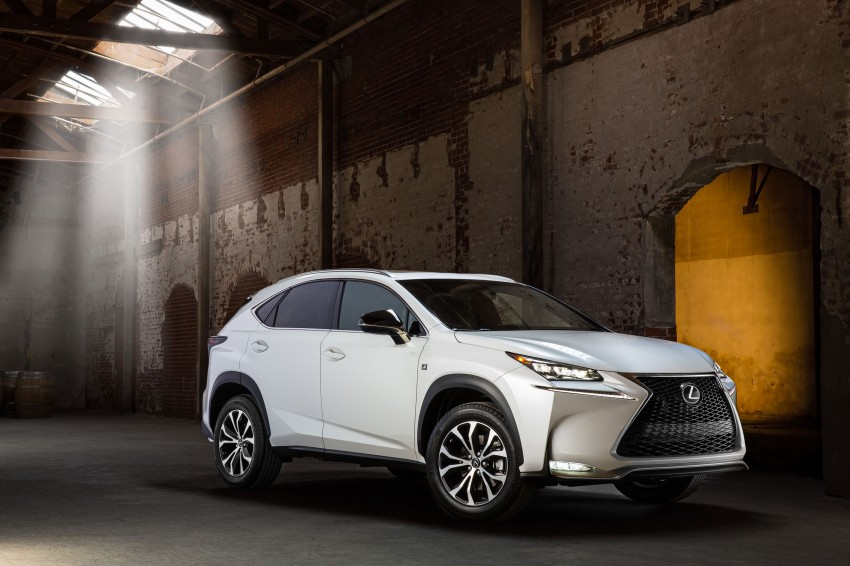 Lexus NX – full details revealed at Auto China 2014 Image #243191