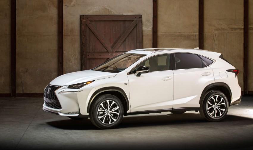 Lexus NX – full details revealed at Auto China 2014 Image #243187