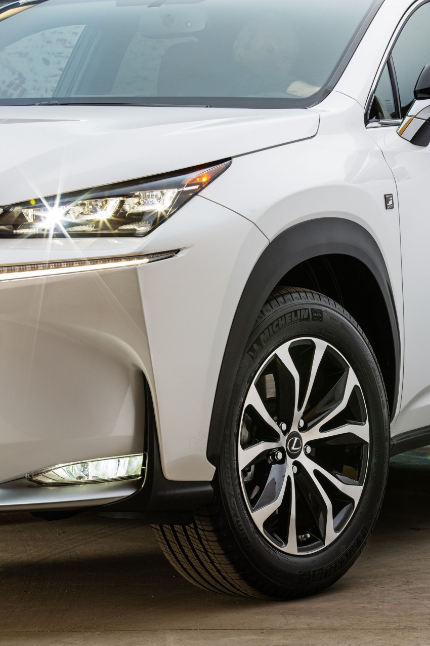 Lexus NX – full details revealed at Auto China 2014 Image #243188