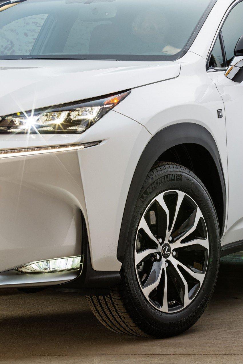 Lexus NX – full details revealed at Auto China 2014 Image #243188