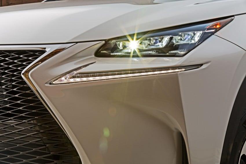 Lexus NX – full details revealed at Auto China 2014 Image #243184