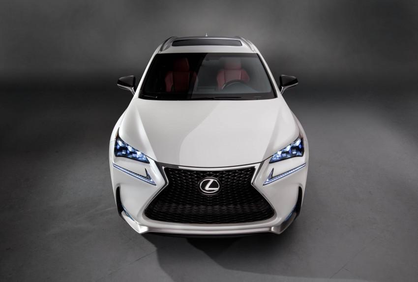 Lexus NX – full details revealed at Auto China 2014 Image #243178