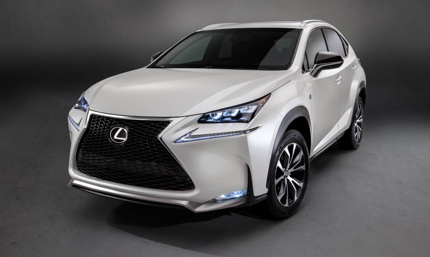 Lexus NX – full details revealed at Auto China 2014 Image #243175