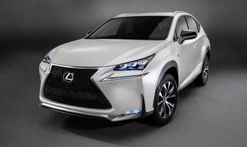 Lexus NX – full details revealed at Auto China 2014 Image #243175