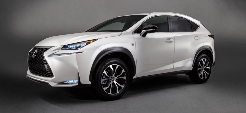 Lexus NX – full details revealed at Auto China 2014 Image #243176