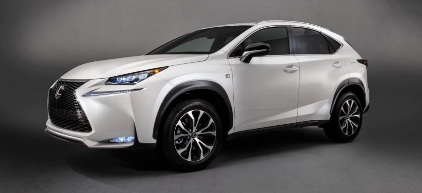 Lexus NX – full details revealed at Auto China 2014 Image #243176