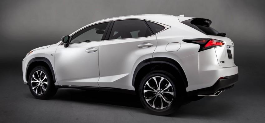 Lexus NX – full details revealed at Auto China 2014 Image #243173