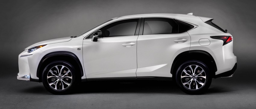 Lexus NX – full details revealed at Auto China 2014 Image #243174
