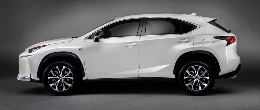 Lexus NX – full details revealed at Auto China 2014 Image #243174