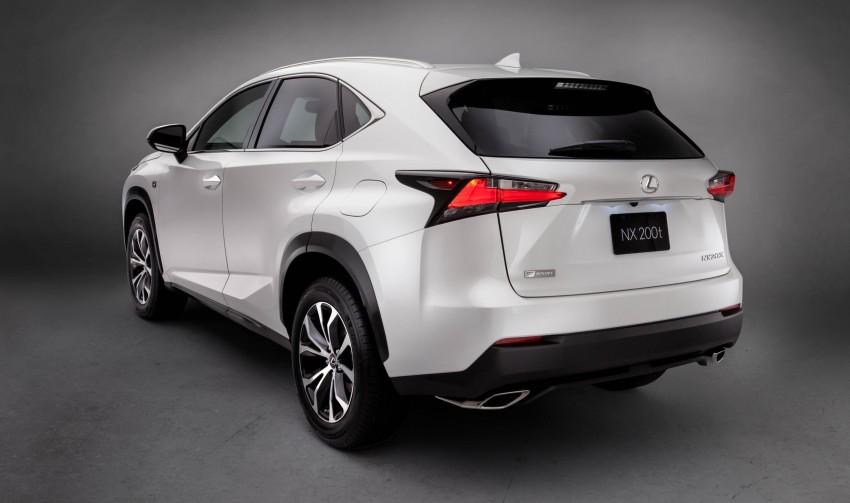 Lexus NX – full details revealed at Auto China 2014 Image #243172