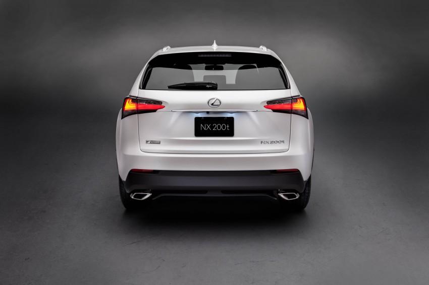 Lexus NX – full details revealed at Auto China 2014 Image #243169