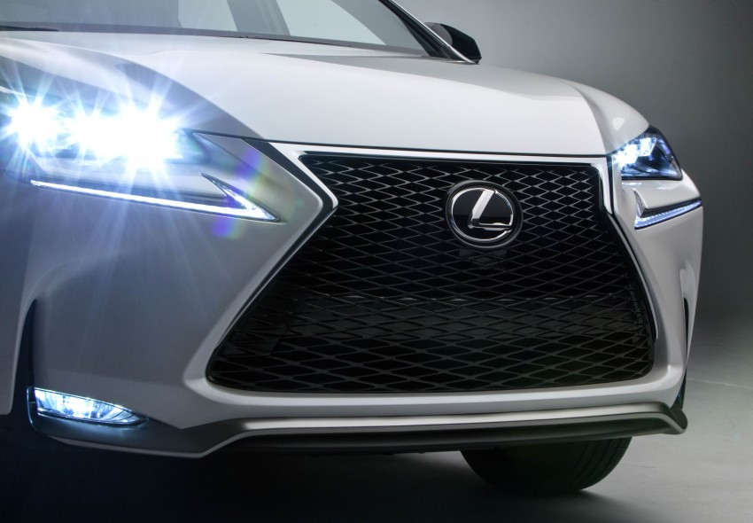 Lexus NX – full details revealed at Auto China 2014 Image #243171