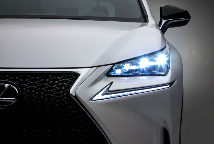 Lexus NX – full details revealed at Auto China 2014 Image #243170