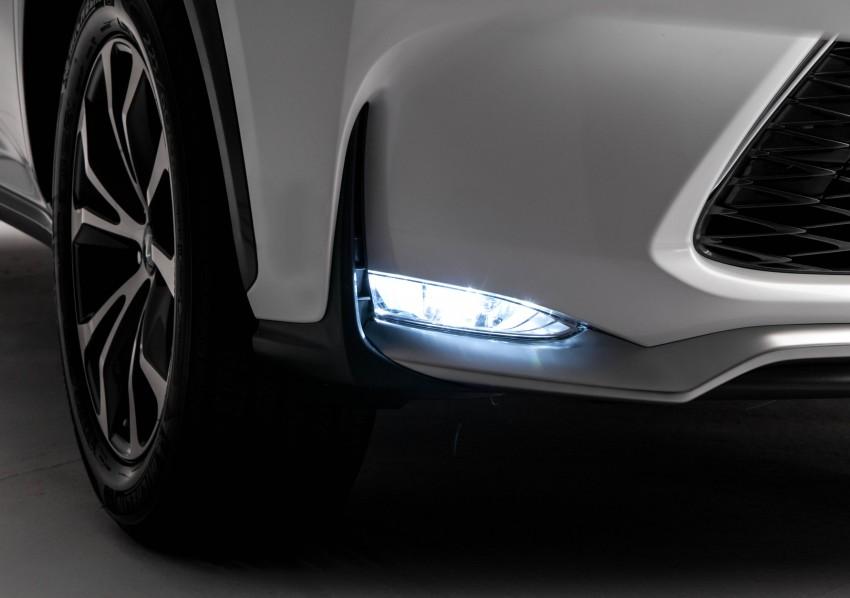 Lexus NX – full details revealed at Auto China 2014 Image #243167