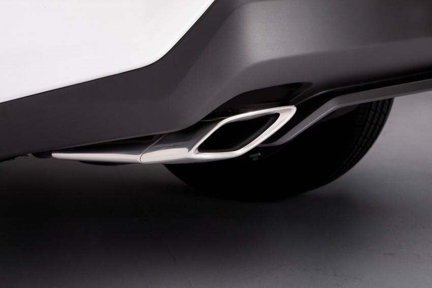 Lexus NX – full details revealed at Auto China 2014 Image #243165