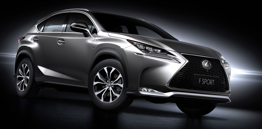 Lexus NX – full details revealed at Auto China 2014 Image #243186