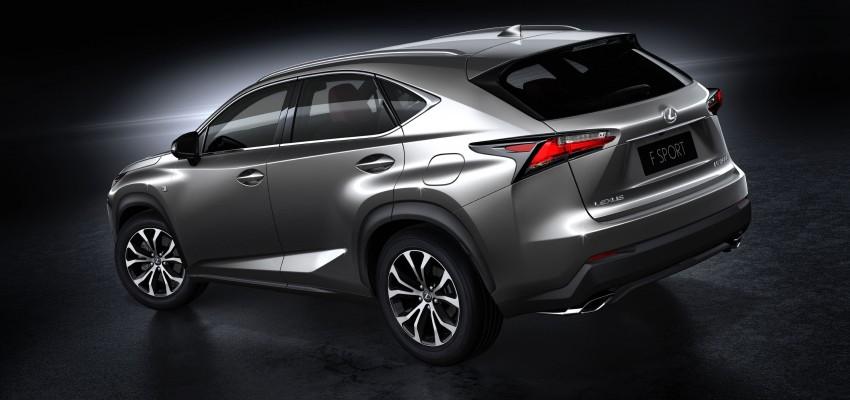 Lexus NX – full details revealed at Auto China 2014 Image #243163