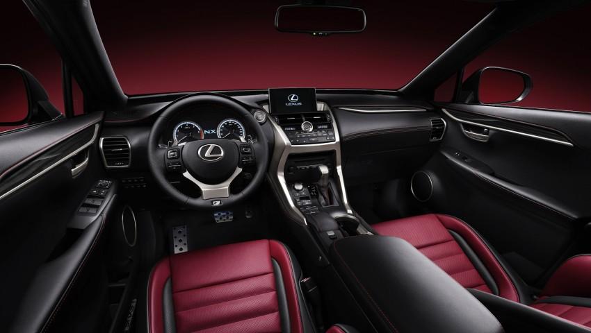 Lexus NX – full details revealed at Auto China 2014 Image #243162