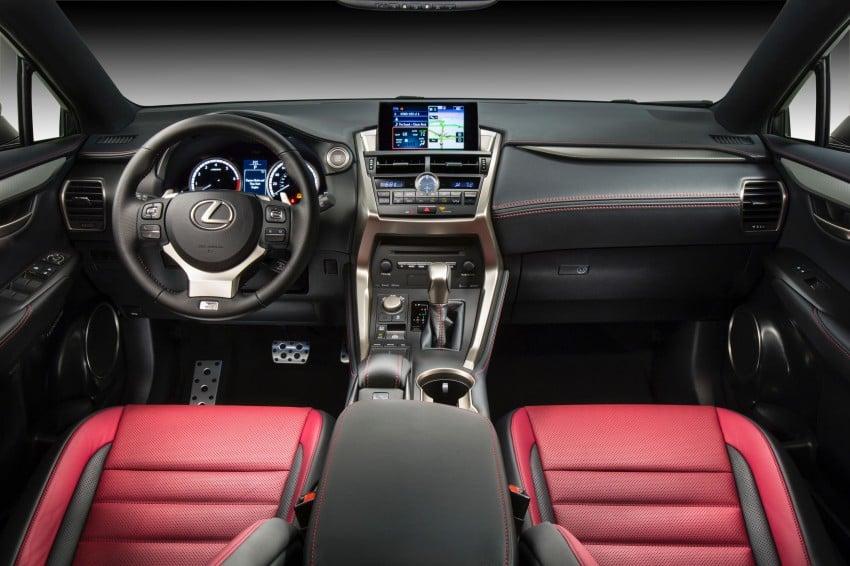 Lexus NX – full details revealed at Auto China 2014 Image #243160