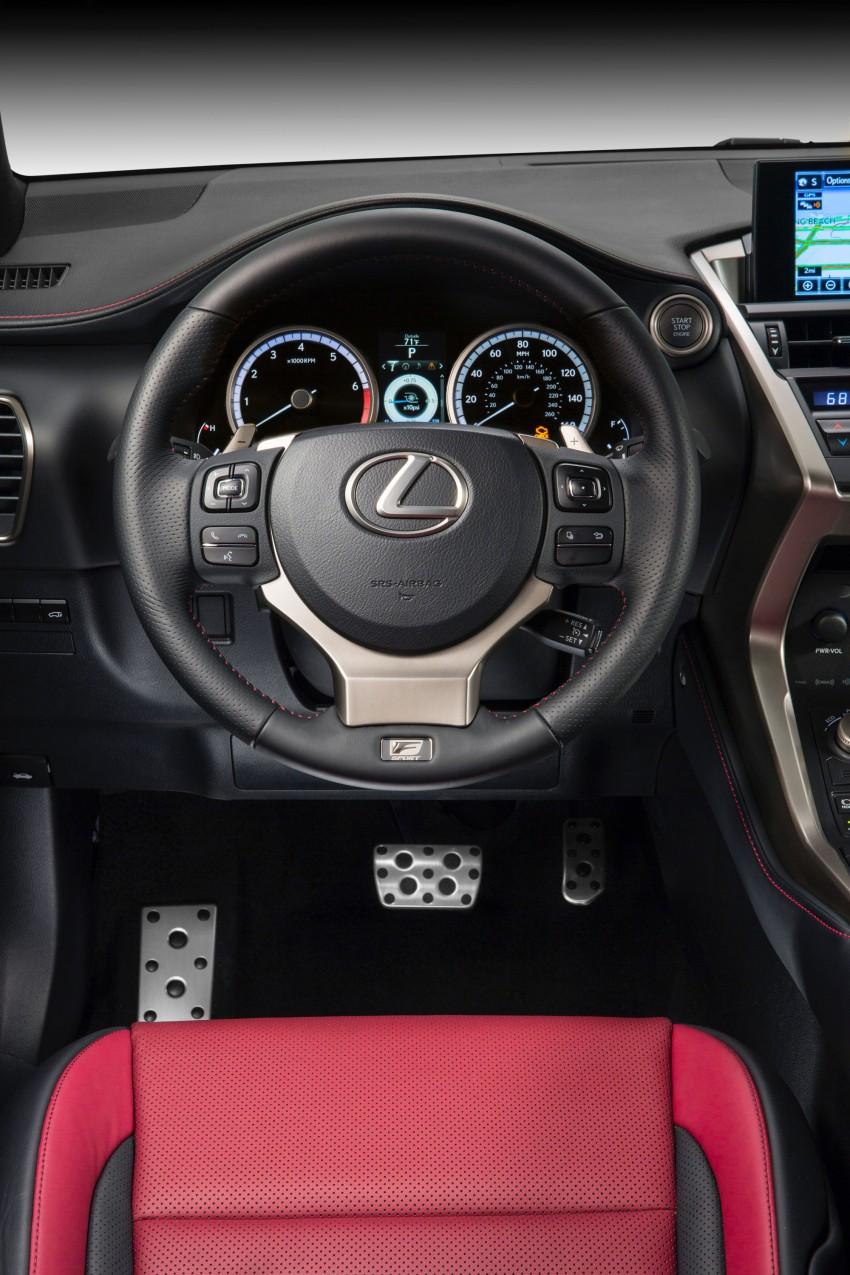 Lexus NX – full details revealed at Auto China 2014 Image #243161