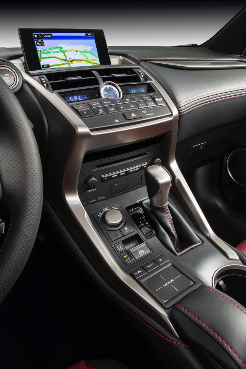 Lexus NX – full details revealed at Auto China 2014 Image #243158